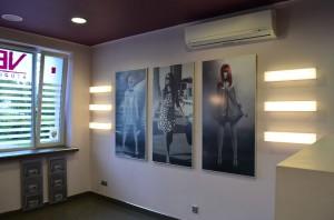 Podświetlane półki z plexi Częstochowa