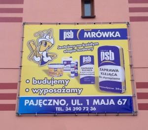 Banery reklamowe wielkoformatowe Częstochowa