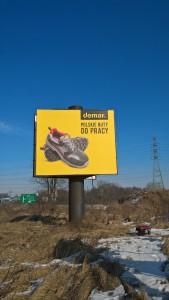 Billboard dwustronny