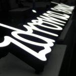 logo litery 3d